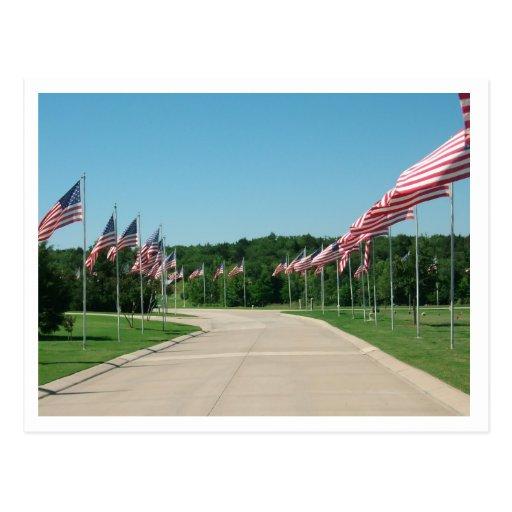 Cementerio nacional de los veteranos de DFW - Postales