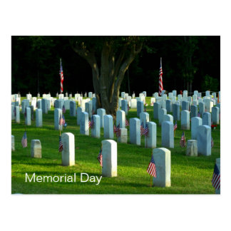 Cementerio nacional de Natchez del Memorial Day Postal