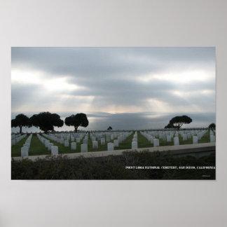 Cementerio nacional del Point Loma Póster