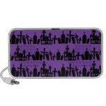 Cementerio púrpura iPod altavoces