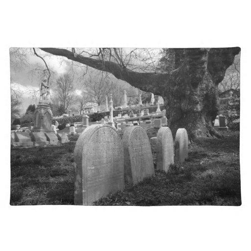 cementerio reservado manteles individuales