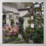 Cementerio Salzburg Austria Posters