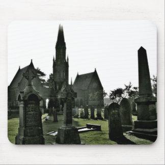 cementerio alfombrilla de raton