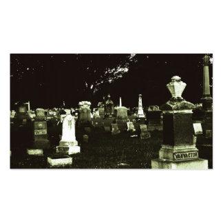 Cementerio viejo (2) tarjetas de visita