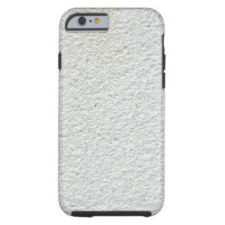 Cemento texturizado blanco funda resistente iPhone 6
