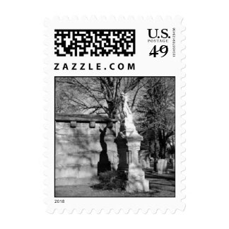 Cemetary #1 postage stamp