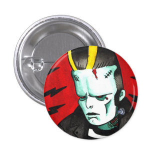 Cemetary King Pinback Button