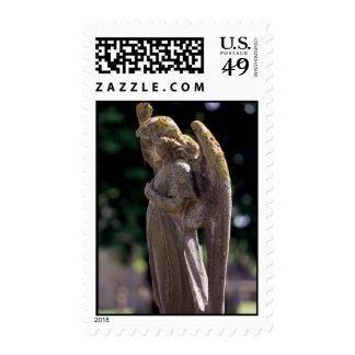 Cemetary Sentinel Postage Stamp