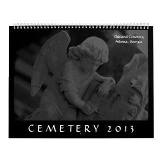 Cemetery 2013 (Oakland Cemetery, Atlanta, GA Wall Calendars