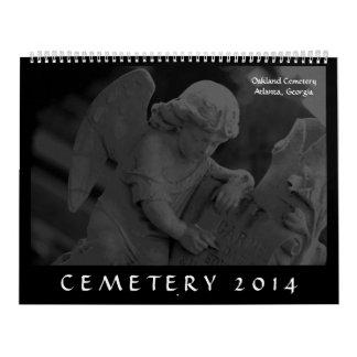 Cemetery 2014 (Oakland Cemetery, Atlanta, GA Wall Calendars