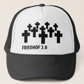 cemetery 2.0 icon trucker hat