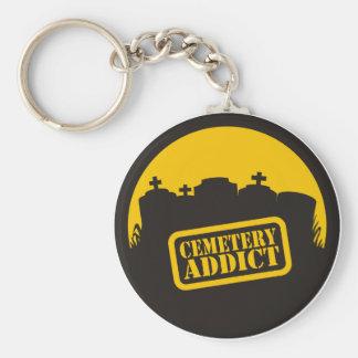 Cemetery Addict Keychain