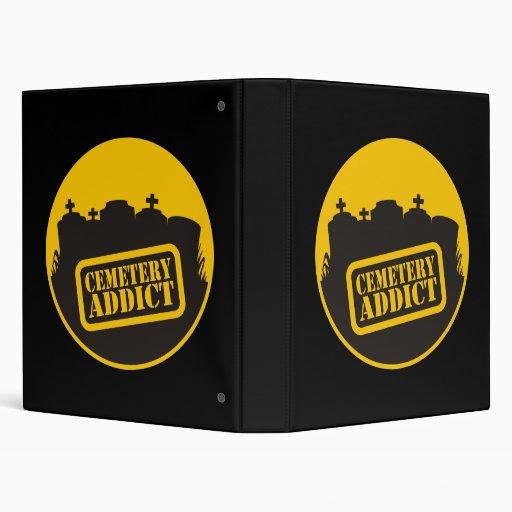 Cemetery Addict Vinyl Binders