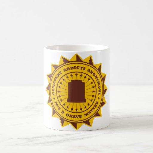 Cemetery Addicts Anonymous Coffee Mug