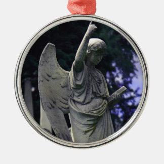Cemetery Angel Christmas Tree Ornament