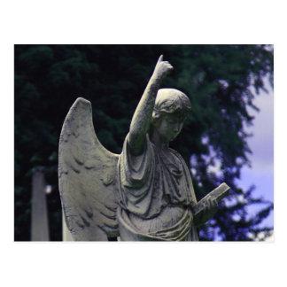 Cemetery Angel Postcard