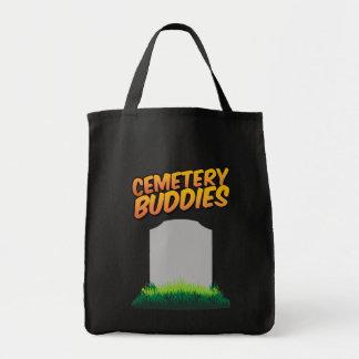 Cemetery Buddies Canvas Bags
