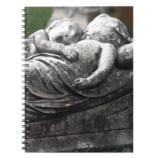 Cemetery Cherbs Spiral Notebooks