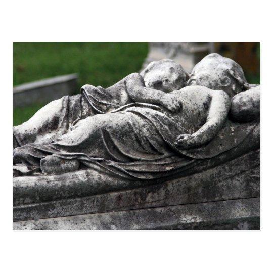 Cemetery Cherbs Postcard