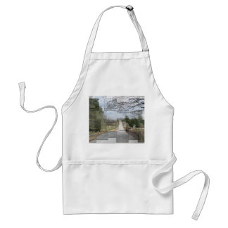 Cemetery Collage Adult Apron