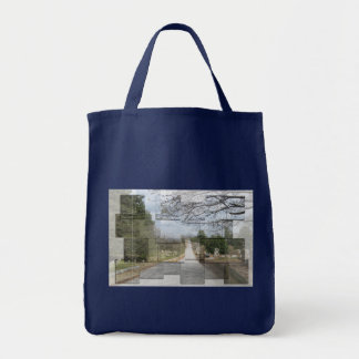 Cemetery Collage Bag