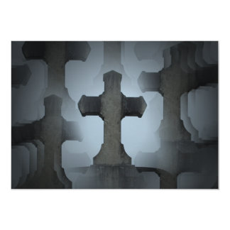 cemetery cross illusion 2 card