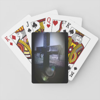 Cemetery Cross Playing Cards, Standard Index faces Playing Cards