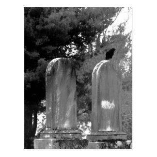 Cemetery Crow Post Cards