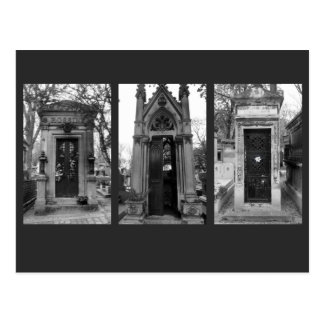 Cemetery Crypts Postcard
