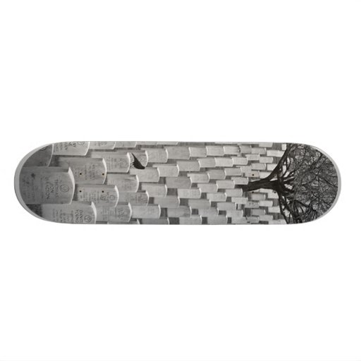 Cemetery Custom Skateboard