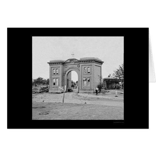 Cemetery Gatehouse at Gettysburg 1863 Card