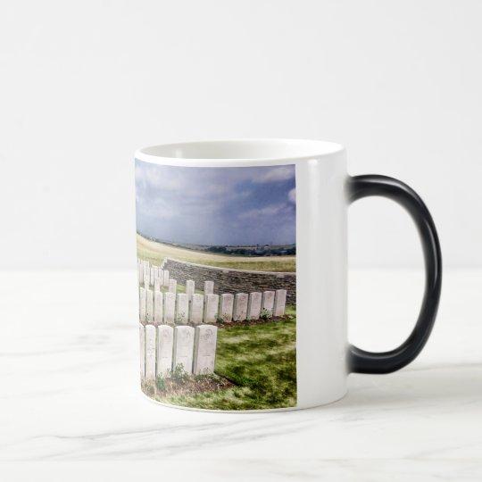 Cemetery in France Magic Mug