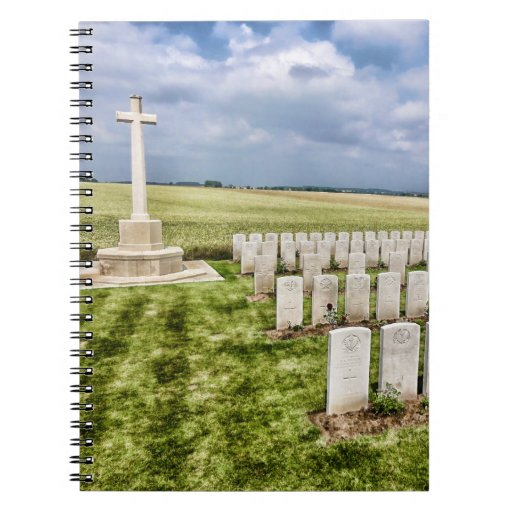 Cemetery in France Journal