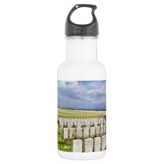 Cemetery in France Stainless Steel Water Bottle
