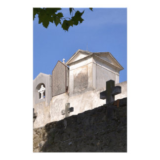 Cemetery in Menton Stationery