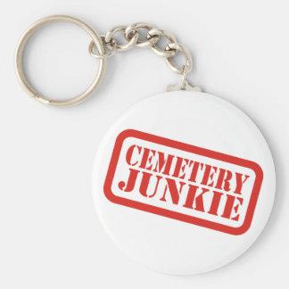 Cemetery Junkie Key Chain