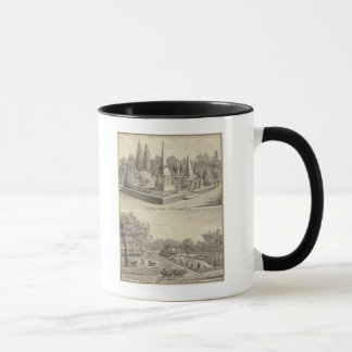 Cemetery lot Sacto, res Woodland Mug