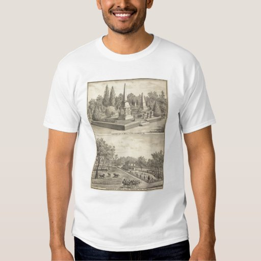 Cemetery lot Sacto, res Woodland T-Shirt