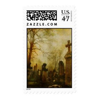 Cemetery Mist Stamp