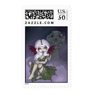 """""""Cemetery Mist"""" Stamp"""