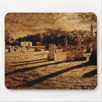 Cemetery Mouse Pad
