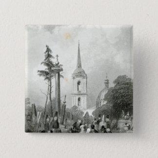 Cemetery of the Smolensko Church Button