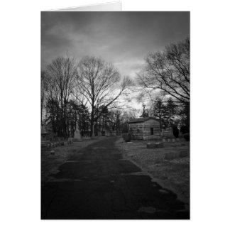 Cemetery Path Card