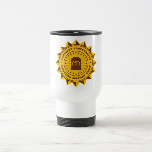 Cemetery Photography Addiction Support Group Coffee Mug