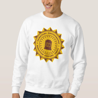 Cemetery Photography Addiction Support Group Sweatshirt