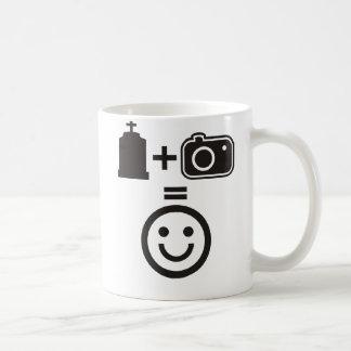 Cemetery Photography Smiley Coffee Mug