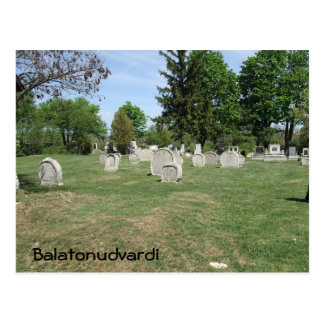 Cemetery Postcards