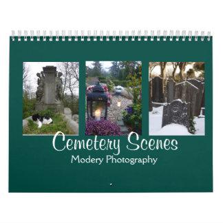 Cemetery Scenes 2018 Calendar