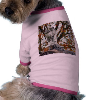 Cemetery Statues Vases Dog T Shirt
