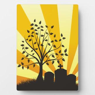 Cemetery Sunburst Display Plaques